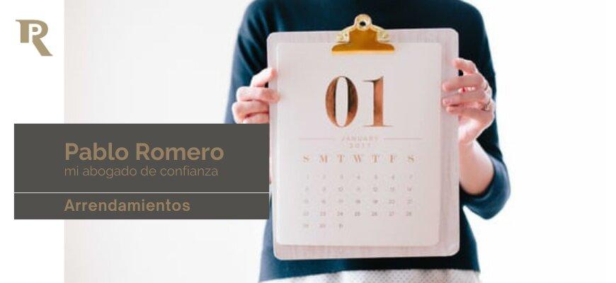 Finalización del contrato de alquiler. Cuál es la duración de un arrendamiento de vivienda 3