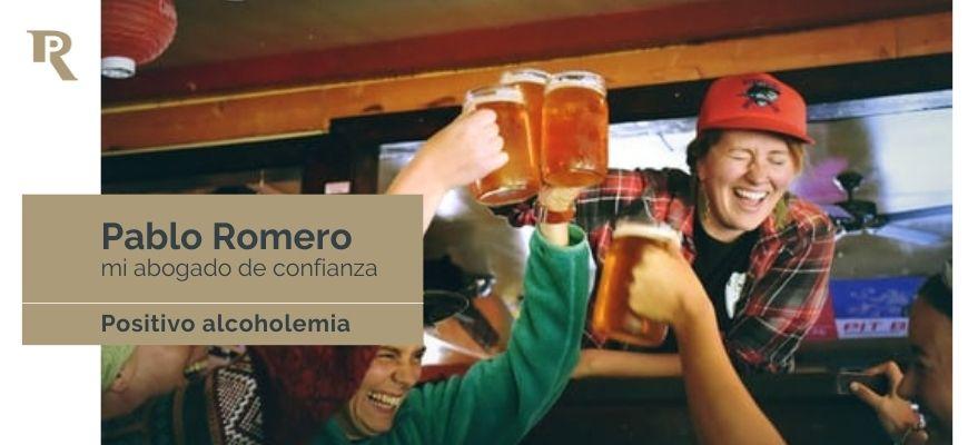 Sancion administrativa por alcoholemia. Multas 1