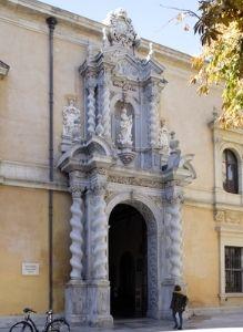 abogado en granada - Fachada Facultad Derecho de Granada