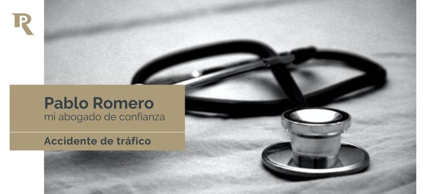 Asistencia sanitaria en un accidente de trafico