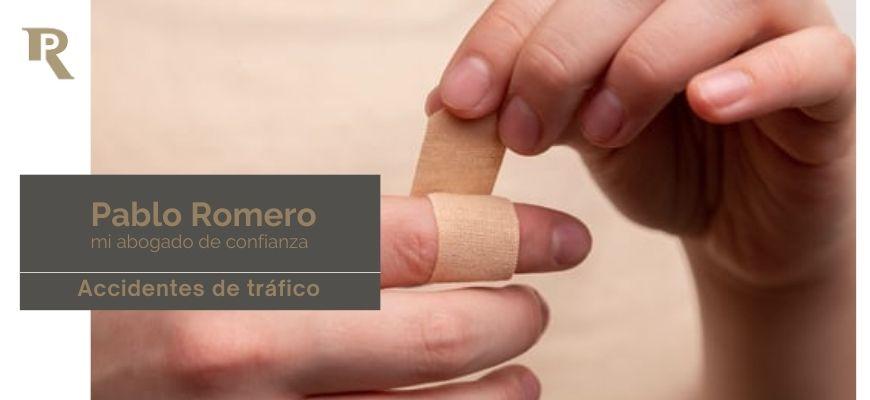 Lesiones en accidente de tráfico. Reclamación de indemnización 3