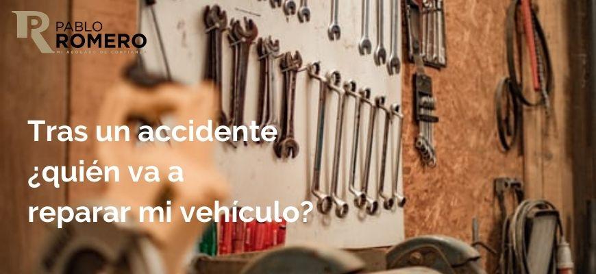 daños materiales en un accidente de tráfico