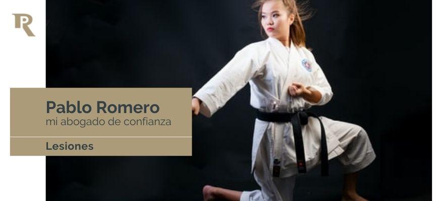 artes marciales en el delito de lesiones